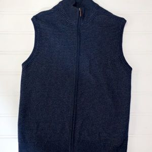 Haggar Clothing Sweater Vest with Zipper